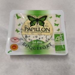 Roquefort AOC Papillon Bio,...